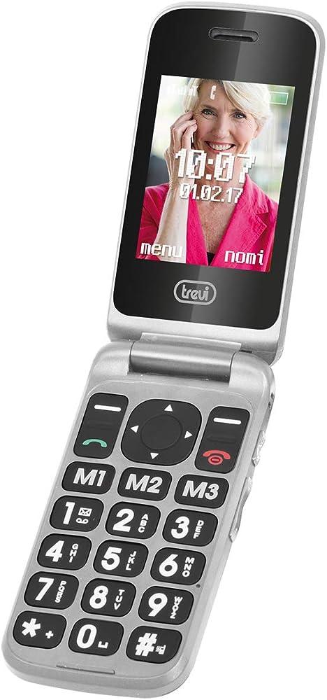 Trevi flex plus 55 telefono cellulare per anziani a conchiglia con grandi tasti 0FLX5506