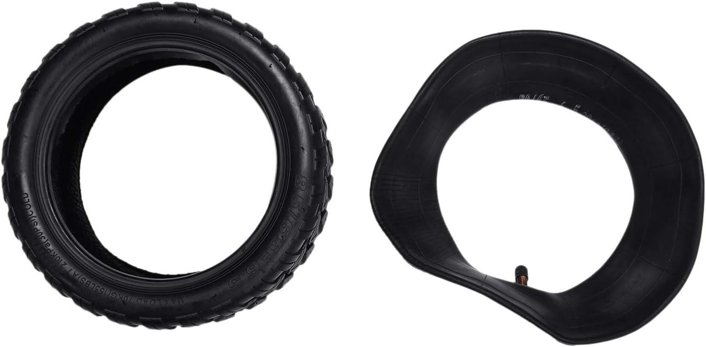 Wobekuy Neumático 85/65-6.5 y cámara de aire para 9 goma eléctrica para scooter eléctrico de 10 pulgadas