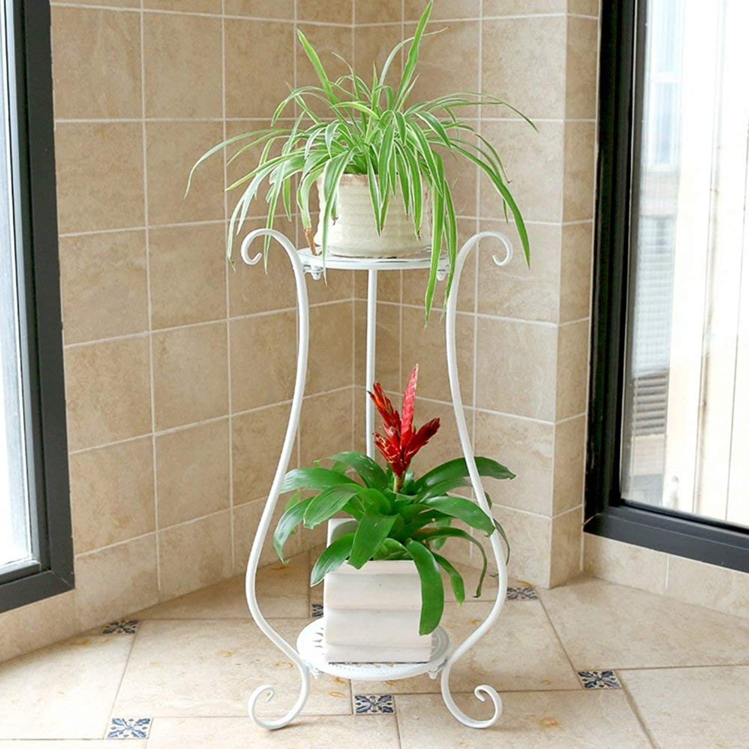 Gifts & Decor Plant Stand Shelf Home Gardening Multilayer Wrought Iron Plant Stand,Planter Rack