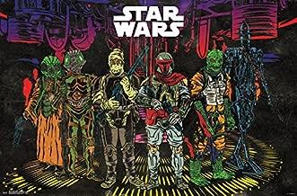 Trends International Star Wars: Saga - Bounty Hunters Group Wall Poster, 22.375