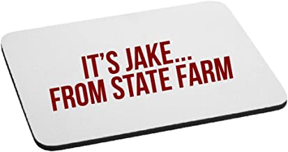 Funny It's Jake from State Farm Parody Mouse Pad - Red