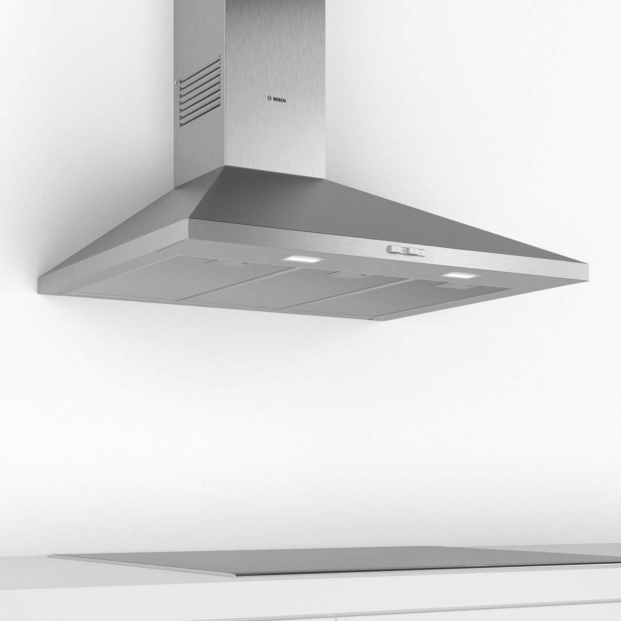 Bosch DWP94BC50B - Campana extractora de chimenea tradicional (90 cm, acero inoxidable): Amazon.es: Hogar