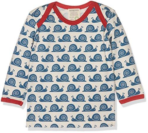 Loud + Proud Unisex - Baby Sweatshirt 205, Gr. 104 (Herstellergröße: 98/104), Blau (Ink in)