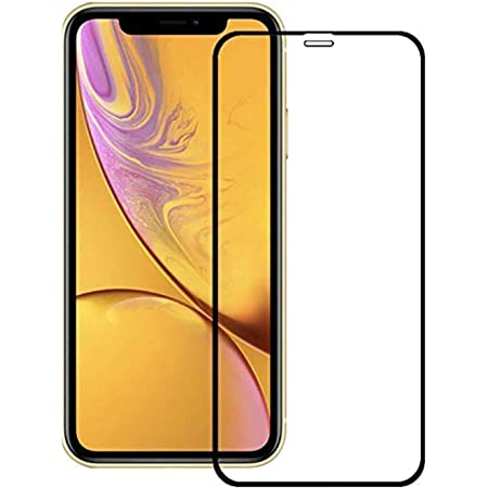 CEDO Tempered Glass for iPhone XR | Screen Protector Full HD Quality Edge to Edge Coverage for iPhone XR (Black)