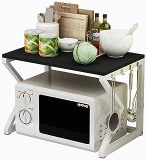 Rangement Cuisine Organisateur étagère De fortes étagères métalliques for Spice rack Organizer Workstation 2-Tier Cuisine ...
