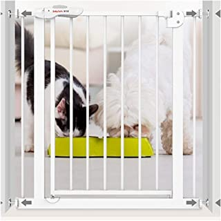 Punch-Free Pet Isolation Fence Child Safety Fence Baby Gates for Stairs Guardrail Dual Lock Self Closing