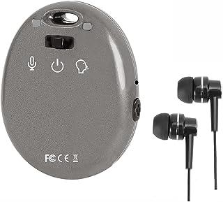 Digital Voice Recorder,Portable Mini Audio Recorder with 8gb Memory,Tiny MP3 Player(Grey)