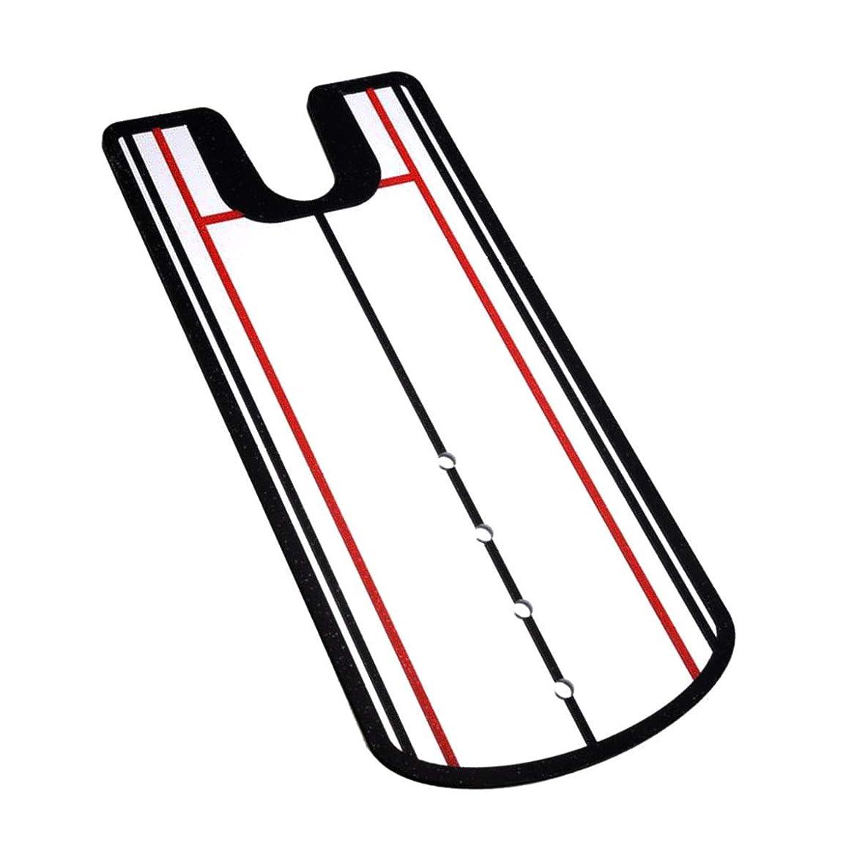 弾性護衛ディスパッチmonoii パター練習 パター ゴルフ パッティング 練習 マット 練習器具 パターマット ミラー b003
