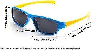 7afa7c6a05 Gafas de seguridad Niños y niñas Gafas de sol deportivas polarizadas  flexibles TR90 con protección UV