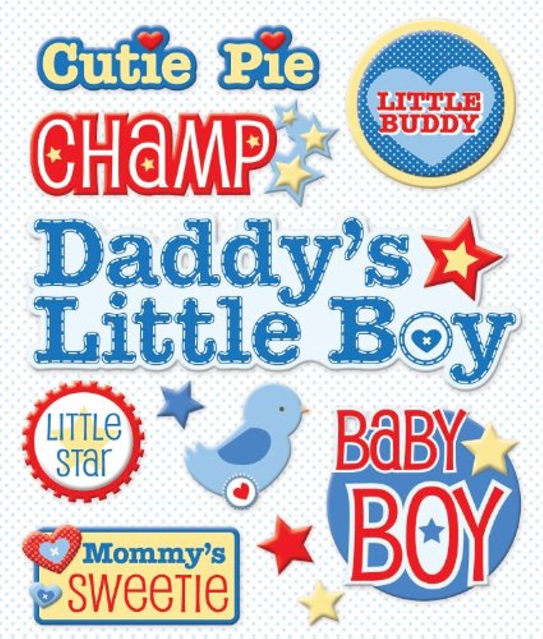 K&Company Baby Boy Names Sticker Medley
