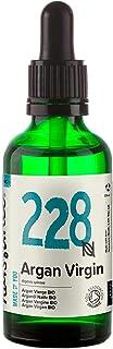 Naissance Aceite Vegetal de Argán de Marruecos BIO n. º 228 - 50ml - Puro natural vegano certificado ecológico sin hex...