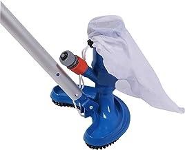 Decdeal Aspirador Fondo Piscina, la Piscina Cepillo Rociador Herramientas para la Limpieza con Manija Clip Bolsa y Cordón