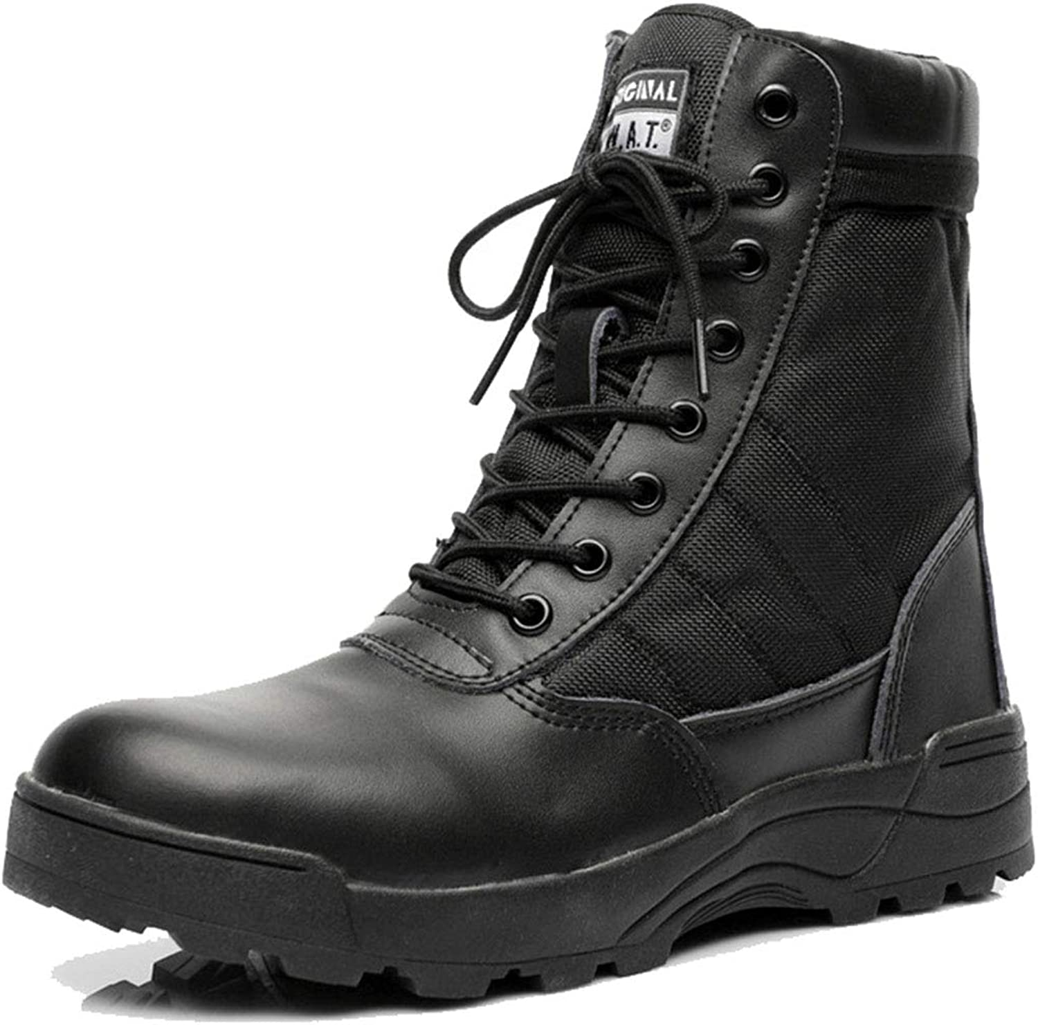 Men Desert Army Combat Boots Lace Up High Top Military Jungle Hiking Patrol Boot Outdoor Camping Armed Tactical shoes