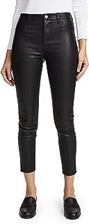 [BLANKNYC] Blank Denim Women's The Principle Mid Rise Vegan Leather Skinny Pants