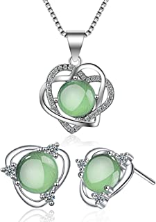 Best mint green and silver earrings Reviews