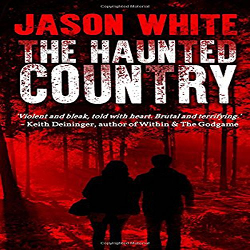 The Haunted Country audiobook cover art