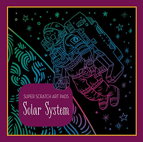 Super Scratch Art Pads: Solar System