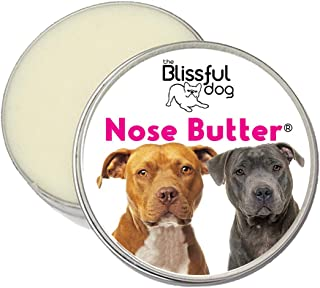 The Blissful Dog American Staffordshire Terrier Nose Butter - Dog Nose Butter, 4 Ounce