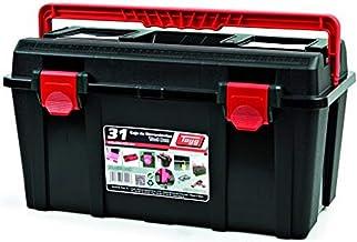 TAYG Toolbox gereedschapskist van kunststof nr. 31 assortimentskoffer nr. 31 met inleg en box 445 x 235 x 230 mm