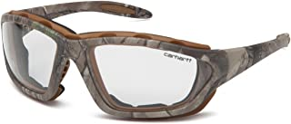 Carhartt CHRT410DTP Carthage Safety Glasses with Realtree Xtra Frame and Clear Anti-Fog Lens