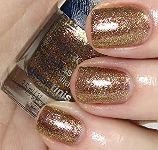 Covergirl The Hunger Games Catching Fire Capitol Collection Nail Art Stickers - 105 Tawny Flame (630 Seared Bronze)
