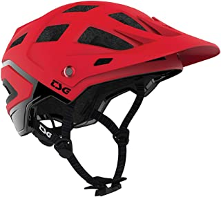 TSG Scope Bicycle & Mountain Bike Helmet w/Tuned Fit, Trail, MTB, Adult & Youth, Low Fit, Protective Gear, Impact Protection, Air Vents, Strap Lamp/Camera Mount, CPSC Certified, Swiss, Graphic Design