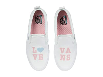 Vans Kids Autism Awareness ComfyCush Slip-On PT (Little Kid) ((Autism Awareness) Snesory/Pink Icing) Girls Shoes