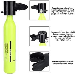 Simlug Diving Respirator Diving Equipment Accessory Mini Scuba Cylinder Oxygen Tank,Oxygen Cylinder Tank Bag Holder,High Pressure Air Pump