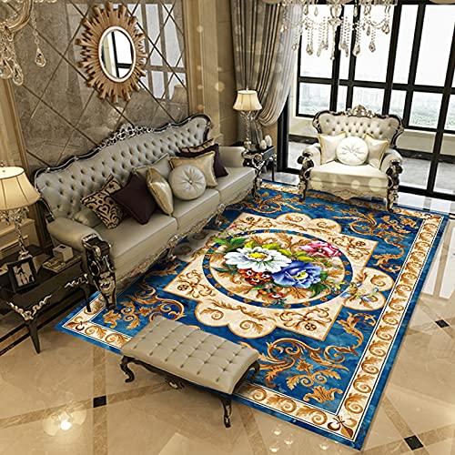 Chinesischer Teppich Im Klassischen Stil Dicke wasserdichte Und rutschfeste Bodenmatte Erkermatte Geeignet Für Schlafzimmer Flur Eingang
