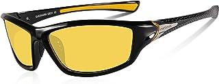 900f25829f Queshark Gafas de Sol Deportivas Polarizadas Para Hombre Perfectas Para  Esquiar Golf Correr Ciclismo TR990 Súper