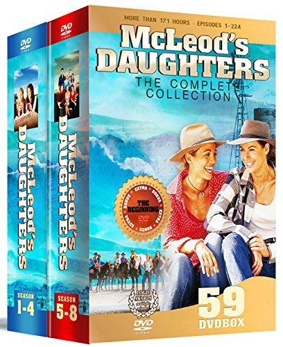 McLeods Töchter / McLeod's Daughters - Complete Series - 59-DVD Box Set ( ) [ Dänische Import ]
