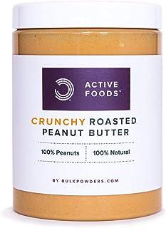 Bulk Erdnussbutter, Crunchy, 1 kg, Verpackung Kann Variieren
