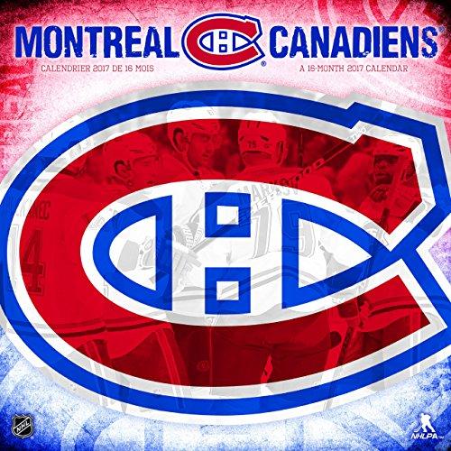 Trends International 2017Wand Kalender, September 2016–Dezember 2017, 29,2x 29,2cm NHL Montreal Canadiens