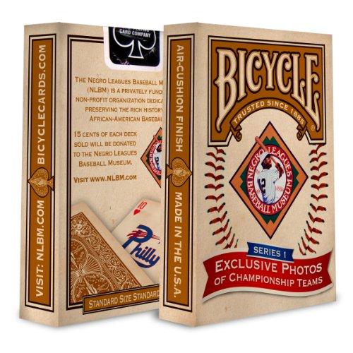 Cartes Bicycle Negro leagues baseball museum