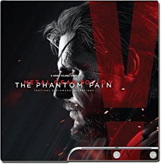 Metal Gear Solid V MGS 5 Solid Snake Venom Ocelot Big Boss Quiet Video Game Vinyl Decal Skin Sticker Cover for Sony Playstation 3 PS3 Slim