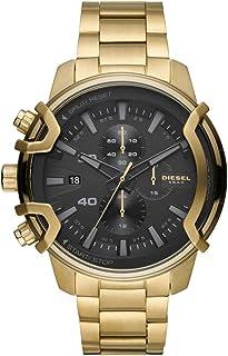 ساعة انالوج ستانلس ستيل للرجال من ديزل بمينا اسود اللون - DZ4522