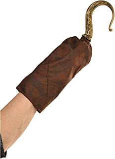 amscan Deluxe Gold Pirate Hook