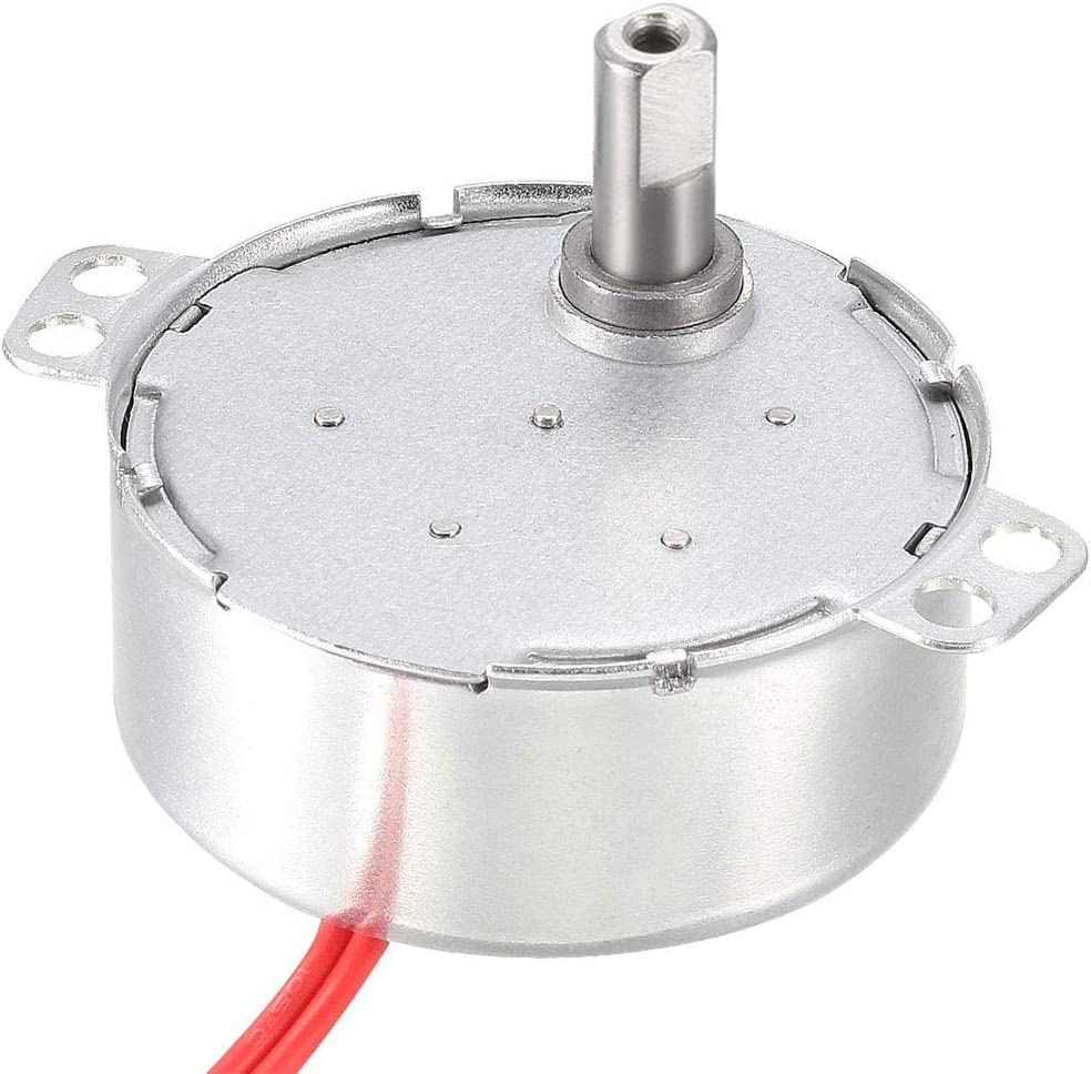 uxcell Turntable Synchronous Synchron Rapid rise Motor 24 CW VAC 4W Topics on TV 50-60Hz