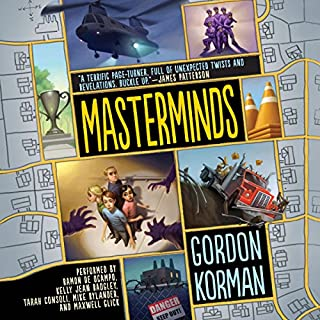 Masterminds cover art