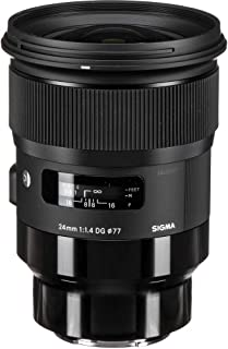 Sigma 24mm f/1.4 DG HSM ART Lens for Leica L-mount Cameras, Black