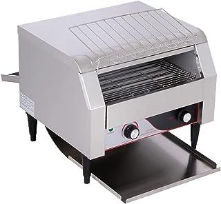 Four grille-pain commercial électrique 2640W, comptoir de fours grille-pain 450 pièces/h, machines à pain grillé au beurre...
