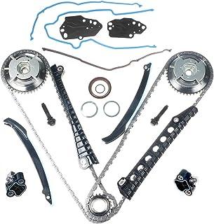 Kit Timing Chain Kit Cam Phaser Camshaft Drive Phaser Repair Kit 3R2Z-6A257-DA For 2004 2013 5.4L 3V 24 Valve Triton Ford Expedition، F-150، F-250، F-350 Super Duty، Lincoln Mark LT، Navigator