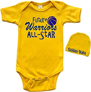 Short Sleeve Onesie & Cap Set - Future Warriors All-Star
