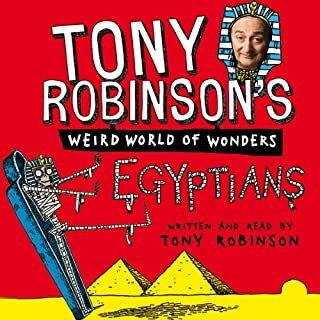 Tony Robinson's Weird World of Wonders: Egyptians audiobook cover art