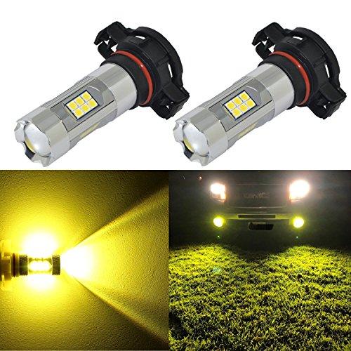 Alla Lighting 3,000-K Yellow LED Fog Lights | Amazon