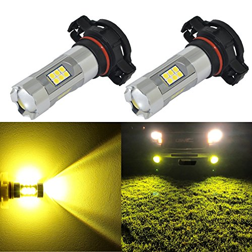 Alla Lighting 3,00-K Yellow LED Fog Lights