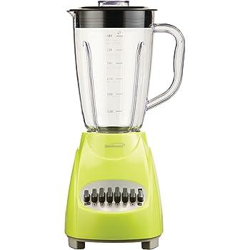 Brentwood JB-220G 12-Speed + Pulse Blender, Lime Green