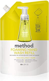 Method Foaming Hand Soap Refill, Lemon Mint, 28 Ounce
