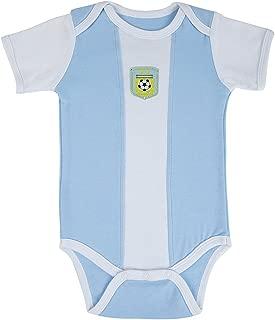Postobon Argentina Soccer Jersey Baby Bodysuit Onesie Jumper Outfit Blue