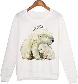 Cute Animal Sweatshirt sudaderas mujer Panda Printed Harajuku Hoodies Kwaii Moleton Pullovers